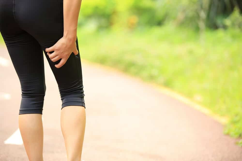 Sciatica treatment for woman with leg pain
