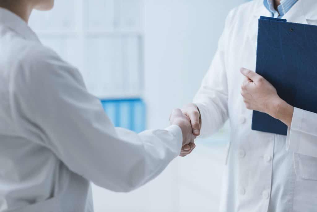 Patient meeting doctor in Torrance